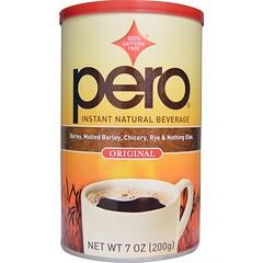 Pero, Instant Natural Beverage, Caffeine Free, Original, 7 oz (200 g)