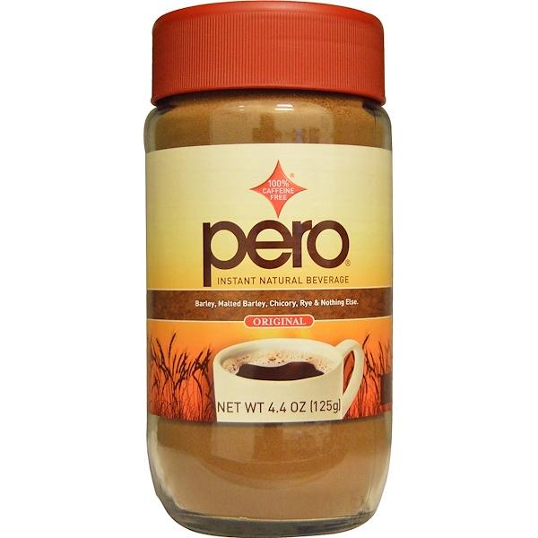 Pero, Instant Natural Beverage, Caffeine Free, Original, 4.4 oz (125 g) (Discontinued Item)