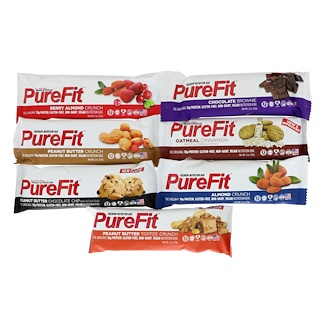 PureFit Bars, Premium Nutrition Bars, Sampler, 7 Bars, 2 oz (57 g) Each
