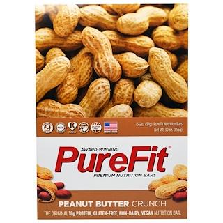 Pure Fit Bars, 프리미엄 영양바, 땅콩버터 크런치, 15개, 각 2 oz (57 g)