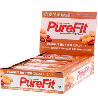 PureFit Bars, Premium Nutrition Bars, Peanut Butter Crunch, 15 Bars, 2 oz (57 g) Each