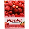 Pure Fit Bars, Premium Nutrition Bars, Berry Almond Crunch, 15 Bars, 2 oz (57 g) Each