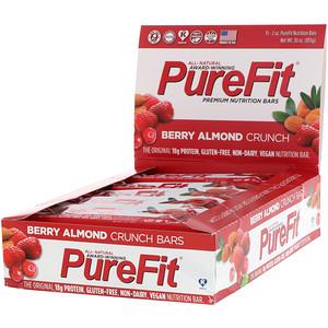 Пуре Фит Барс, Premium Nutrition Bars, Berry Almond Crunch, 15 Bars, 2 oz (57 g) Each отзывы