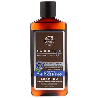 Petal Fresh, Pure, Спасение волос, При потере волос, Максимально укрепляющий шампунь, 12 унций (355 мл)