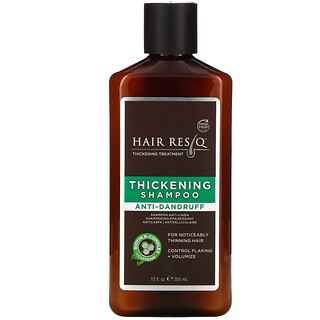 Petal Fresh, Hair ResQ, Thickening Shampoo, Anti-Dandruff, 12 fl oz (355 ml)