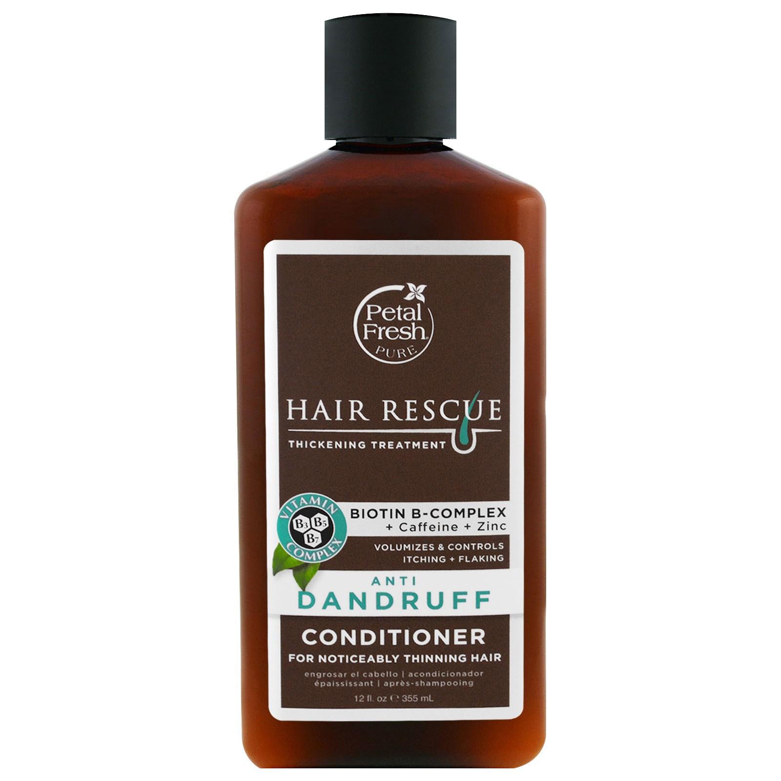 Petal Fresh, Серия Pure, восстановление волос, кондиционер для истонченных волос, против перхоти, 12 жидких унций (355 мл)