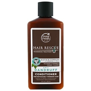 Petal Fresh, Pure, Hair Rescue Thickening Treatment Conditioner, Anti Dandruff, 12 fl oz (355 ml)