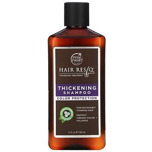 Пэтал Фрэш, Hair ResQ, Thickening Shampoo, Color Protection, 12 fl oz (355 ml) отзывы покупателей