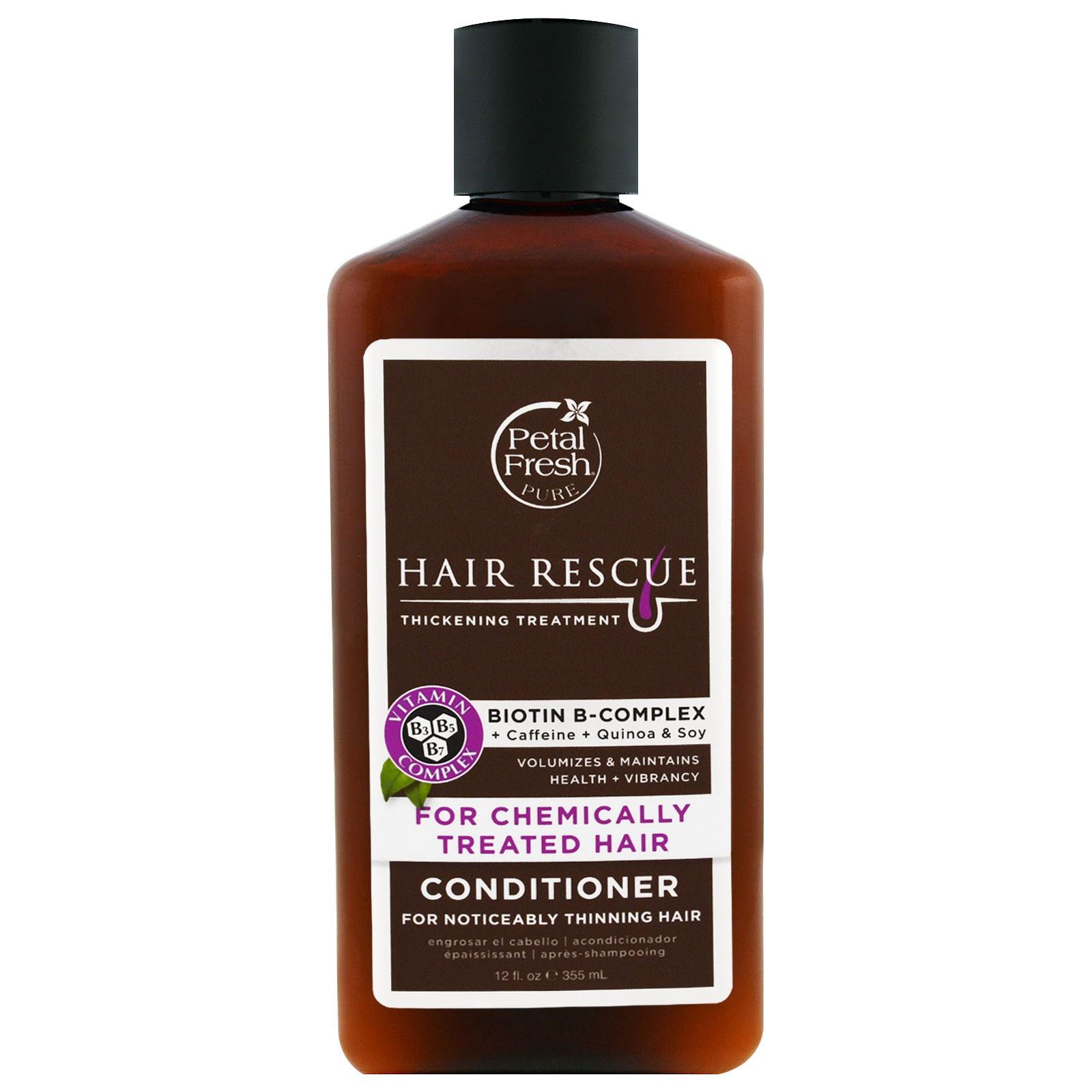 Petal Fresh, Серия Pure, восстановление волос, кондиционер для истонченных волос, для обработанных химическим составом волос, 12 жидких унций (355 мл)