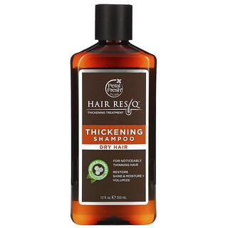Petal Fresh, Hair ResQ, Thickening Shampoo, Dry Hair, 12 fl oz (355 ml)