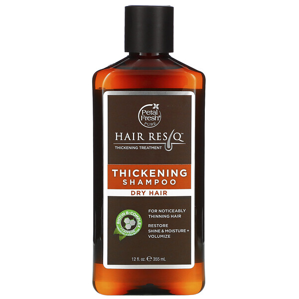 Hair ResQ, Thickening Shampoo, Dry Hair, 12 fl oz (355 ml)