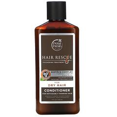 Petal Fresh, 純淨,Hair ResQ,豐盈護髮素,針對乾髮,12 液量盎司(355 毫升)