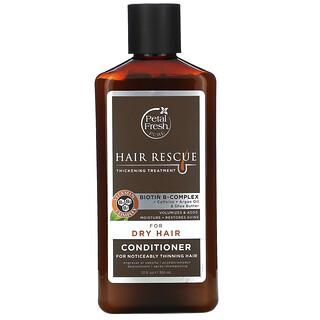 Petal Fresh, ghjHair Rescue puro, acondicionador para el tratamiento del espesamiento del pelo, para cabello seco, 12 fl oz (355 ml)