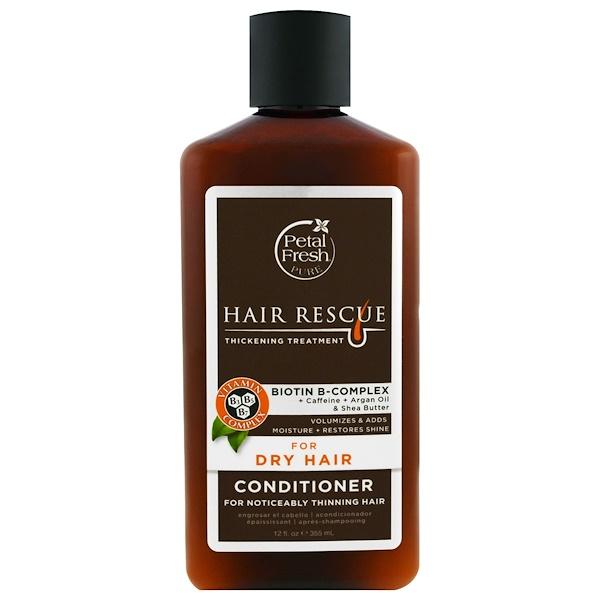 Petal Fresh, 純淨秀發救援濃密護理潤髮素,適合乾燥髮質,12液體盎司(355毫升)
