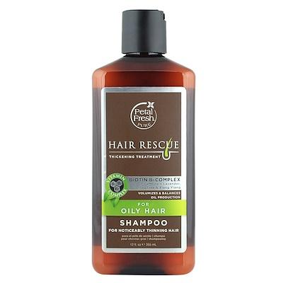 Купить Pure, Спасение Волос, Шампунь для Утолщения Волос, 12 жидких унций (355 мл)