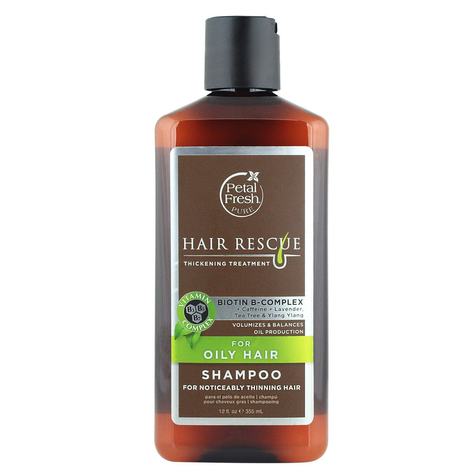petal fresh pure hair rescue thickening treatment shampoo for