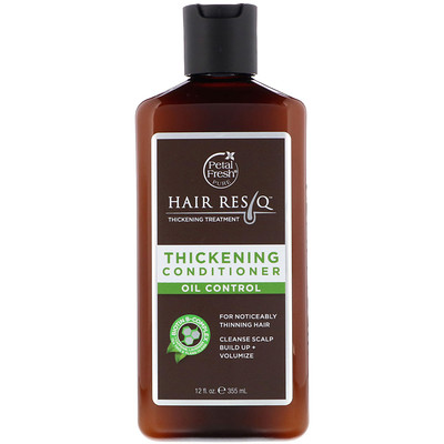 Pure, Hair ResQ, Thickening Treatment Conditioner, Oil Control, 12 fl oz (355 ml) emu oil body treatment 4 fl oz 120 ml