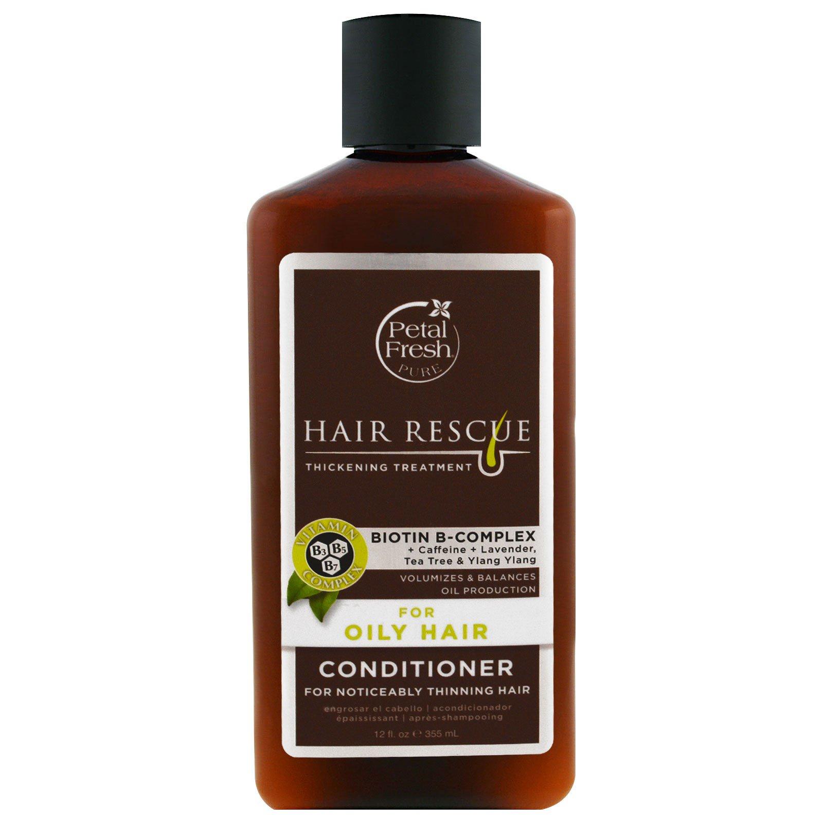 Petal Fresh, Серия Pure, восстановление волос, кондиционер для истонченных волос, для жирных волос, 12 жидких унций (355 мл)