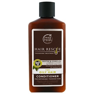 Petal Fresh, Pure, Hair Rescue, Thickening Treatment Conditioner, for Oily Hair, 12 fl oz (355 ml)