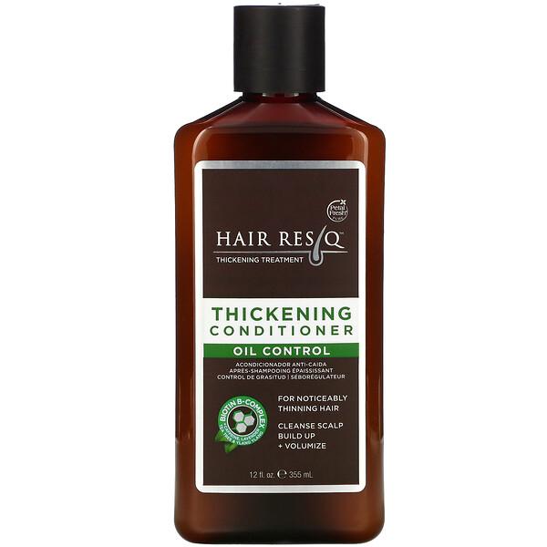 Pure, Hair ResQ, Thickening Treatment Conditioner, Oil Control, 12 fl oz (355 ml)