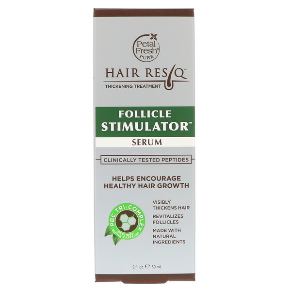 Petal Fresh, Hair ResQ, Thickening Treatment, Follicle Stimulator Serum, 2 fl oz (60 ml)