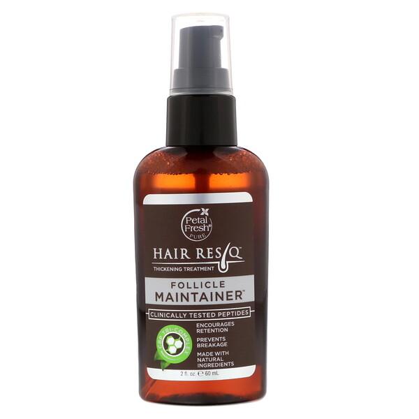 Hair ResQ, Thickening Treatment, Follicle Maintainer Serum, 2 fl oz (60 ml)