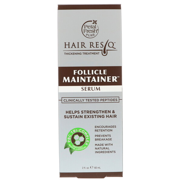 Petal Fresh, Hair ResQ, Лечение для густоты волос, Сыворотка для поддержания состояния фолликулов, 2 ж. унц.(60 мл)