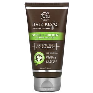 Пэтал Фрэш, Hair ResQ, Thickening Treatment, Style + Thicken Strong Hold Gel, 5 fl oz (150 ml) отзывы покупателей