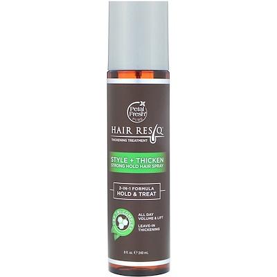 Купить Petal Fresh Hair ResQ, средство для повышения густоты волос, стиль+утолщение, гель сильной фиксации волос, 240 мл