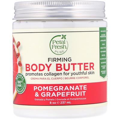 Pure, масло для тела, способствует упругости кожи, Pomegranate & Grapefruit, 8 унц. (237 мл)