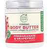 Petal Fresh, Pure, Body Butter, Firming, Pomegranate & Grapefruit, 8 oz (237 ml)