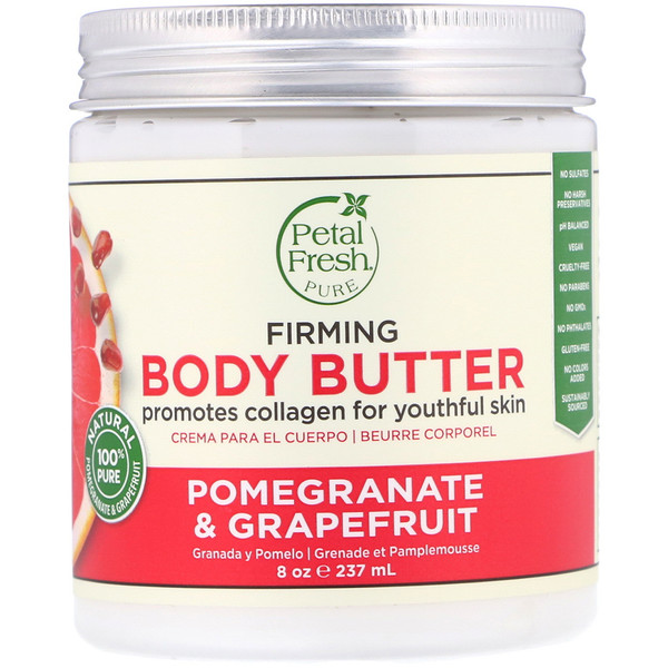 Pure, Body Butter, Firming, Pomegranate & Grapefruit, 8 oz (237 ml)