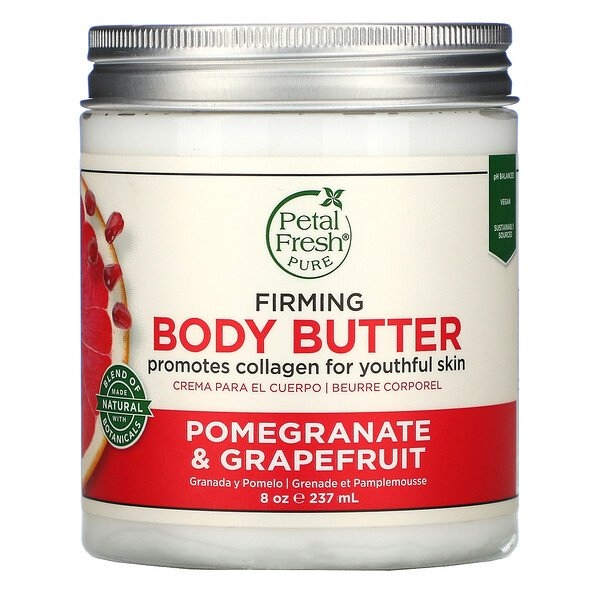 Petal Fresh, Firming Body Butter, Pomegranate & Grapefruit, 8 oz (237 ml)