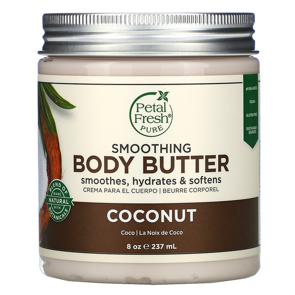 Smoothing Body Butter, Coconut, 8 oz (237 ml)
