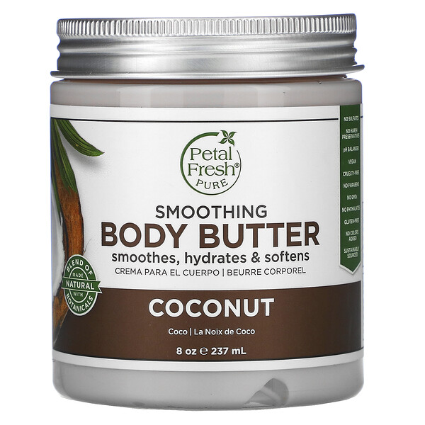 Pure, Body Butter, Ultra Moisturizing, Coconut, 8 oz (237 ml)