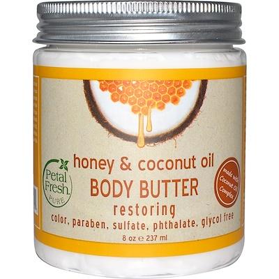 Купить Pure, Восстанавливающее масло для тела, с медом и кокосовым маслом, 8 унций (237 мл)