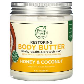 Petal Fresh, Restoring Body Butter, Honey & Coconut, 8 oz (237 ml)