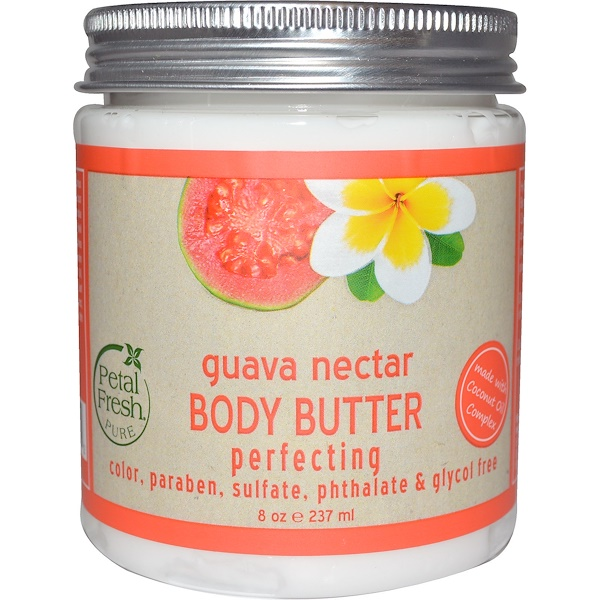 Petal Fresh, Pure, Body Butter, Perfektionierend, Guavennektar, 8 oz (237 ml)