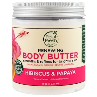 Petal Fresh, Body Butter, Renewing, Hibiscus & Papaya, 8 oz (237 ml)