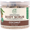 Petal Fresh, Pure, Smoothing Body Scrub, Coconut, 16 oz (473 ml)