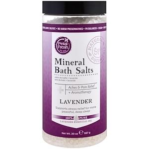 Пэтал Фрэш, Pure, Mineral Bath Salts, Lavender, 20 oz (567 g) отзывы