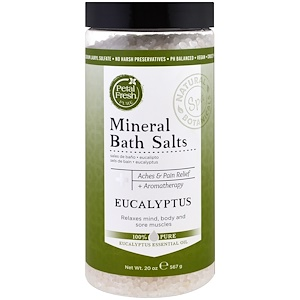 Пэтал Фрэш, Pure, Mineral Bath Salts, Eucaplyptus, 20 oz (567 g) отзывы