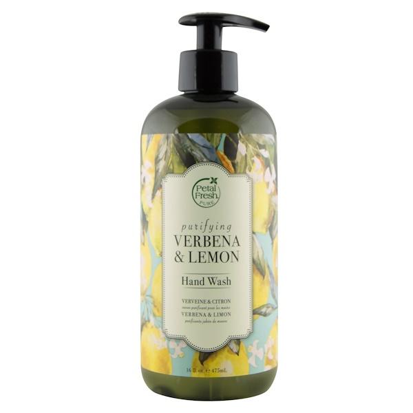 Petal Fresh, Purifying Hand Wash, Verbena & Lemon, 16 fl. oz (475 ml) (Discontinued Item)