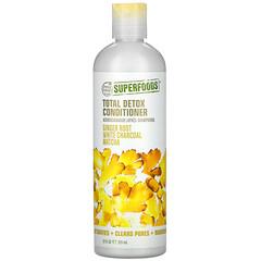 Petal Fresh, 多效解除毒素護髮素,生薑根、白炭和抹茶,12 液量盎司(355 毫升)