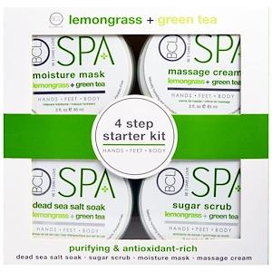 BCL, Be Care Love, Spa, 4 Step Starter Kit, Purifying and Antioxidant Rich, Lemongrass + Green Tea, 4 — 3 fl oz (85 ml) Each отзывы покупателей