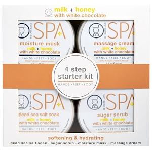 Пэтал Фрэш, Spa, 4 Step Starter Kit, Softening & Hydrating, Milk + Honey with White Chocolate, 4 — 3 fl oz (85 ml) Each отзывы покупателей