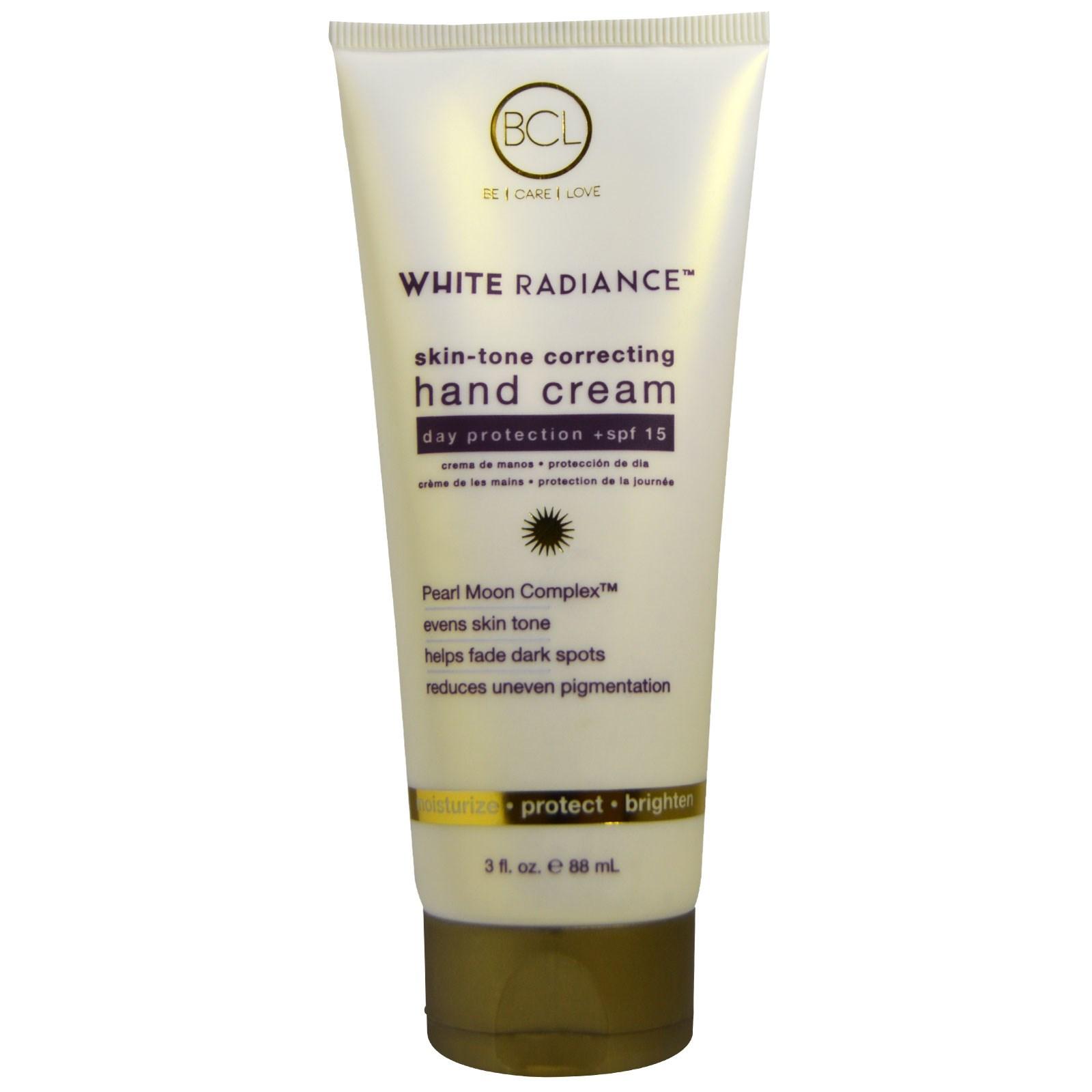 Petal Fresh, White Radiance, Skin-Tone Correcting Hand Cream, SPF 15, 3 fl oz (88 ml)