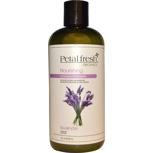 Petal Fresh, Organics, Nourishing Conditioner, Lavender, 16 fl oz (475 ml) (Discontinued Item)