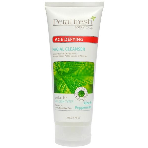 Petal Fresh, Botanicals Facial Care, Aloe & Peppemint Cleanser 7oz (Discontinued Item)