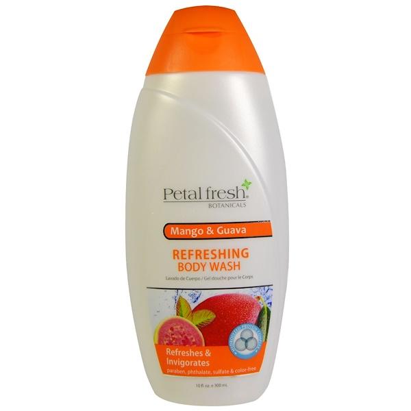 Petal Fresh, Botanicals, Refreshing Body Wash, Mango & Guava, 10 fl oz (300 ml) (Discontinued Item)